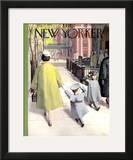 The New Yorker Cover - April 14, 1956 Framed Giclee Print by Arthur Getz