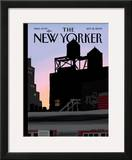 The New Yorker Cover - September 21, 2009 Framed Giclee Print by Jorge Colombo