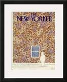 The New Yorker Cover - February 11, 1980 Framed Giclee Print by Michael Witte
