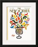 The New Yorker Cover - December 4, 1965 Framed Giclee Print by Abe Birnbaum