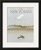 The New Yorker Cover - October 7, 1985 Framed Giclee Print by Andre Francois