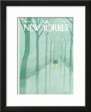The New Yorker Cover - April 14, 1980 Framed Giclee Print by Pierre LeTan