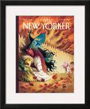 The New Yorker Cover - November 3, 2008 Framed Giclee Print by Carter Goodrich