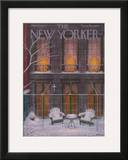 The New Yorker Cover - January 21, 1956 Framed Giclee Print by Edna Eicke