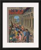 The New Yorker Cover - June 7, 1941 Framed Giclee Print by Ilonka Karasz