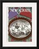 The New Yorker Cover - November 23, 1935 Framed Giclee Print by Antonio Petruccelli