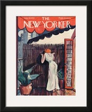 The New Yorker Cover - July 29, 1933 Framed Giclee Print by Barbara Shermund