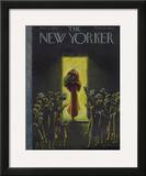 The New Yorker Cover - November 11, 1944 Framed Giclee Print by Christina Malman