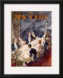The New Yorker Cover - January 7, 1939 Framed Giclee Print by Constantin Alajalov