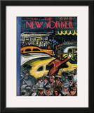 The New Yorker Cover - November 20, 1943 Framed Giclee Print by Victor De Pauw