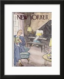 The New Yorker Cover - November 12, 1955 Framed Giclee Print by Perry Barlow