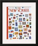 The New Yorker Cover - December 13, 1958 Framed Giclee Print by Anatol Kovarsky