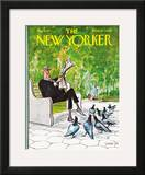 The New Yorker Cover - May 8, 1971 Framed Giclee Print by Charles Saxon