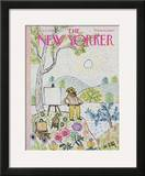 The New Yorker Cover - August 23, 1969 Framed Giclee Print by William Steig