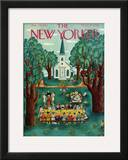 The New Yorker Cover - July 24, 1943 Framed Giclee Print by Ilonka Karasz
