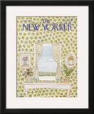The New Yorker Cover - August 1, 1977 Framed Giclee Print by Robert Weber