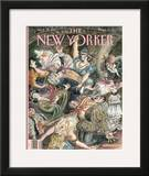 The New Yorker Cover - September 29, 1997 Framed Giclee Print by Edward Sorel