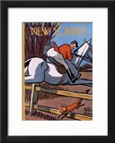 The New Yorker Cover - November 17, 1951 Framed Giclee Print by Peter Arno
