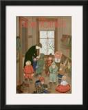 The New Yorker Cover - January 21, 1950 Framed Giclee Print by Edna Eicke