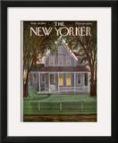 The New Yorker Cover - June 30, 1956 Framed Giclee Print by Edna Eicke