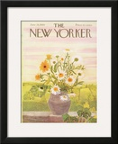 The New Yorker Cover - June 28, 1969 Framed Giclee Print by Ilonka Karasz