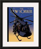 The New Yorker Cover - December 3, 2007 Framed Giclee Print by Christoph Niemann