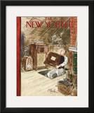 The New Yorker Cover - October 22, 1955 Framed Giclee Print by Perry Barlow