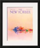 The New Yorker Cover - June 13, 1983 Framed Giclee Print by Susan Davis