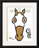 The New Yorker Cover - April 30, 1966 Framed Giclee Print by Abe Birnbaum