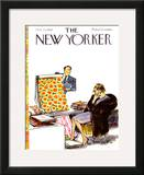The New Yorker Cover - October 23, 1965 Framed Giclee Print by Charles Saxon