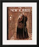 The New Yorker Cover - December 29, 1951 Framed Giclee Print by Peter Arno