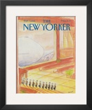 The New Yorker Cover - September 3, 1984 Framed Giclee Print by Jean-Jacques Sempé