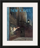 The New Yorker Cover - December 31, 1949 Framed Giclee Print by Mary Petty