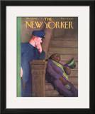 The New Yorker Cover - March 19, 1938 Framed Giclee Print by William Cotton