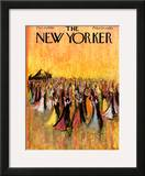 The New Yorker Cover - December 10, 1960 Framed Giclee Print by Robert Kraus