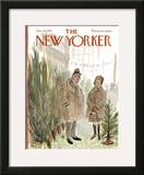 The New Yorker Cover - December 16, 1972 Framed Giclee Print by Frank Modell