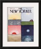 The New Yorker Cover - May 17, 1976 Framed Giclee Print by Pierre LeTan