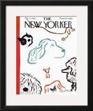 The New Yorker Cover - February 10, 1962 Framed Giclee Print by Abe Birnbaum