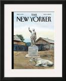 The New Yorker Cover - August 3, 2009 Framed Giclee Print by Alex Melamid