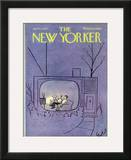 The New Yorker Cover - April 4, 1970 Framed Giclee Print by Stan Hunt