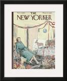 The New Yorker Cover - February 27, 1960 Framed Giclee Print by Perry Barlow