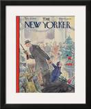 The New Yorker Cover - December 18, 1943 Framed Giclee Print by Perry Barlow