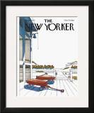 The New Yorker Cover - August 8, 1977 Framed Giclee Print by Arthur Getz