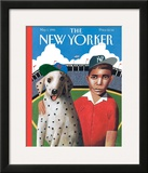 The New Yorker Cover - May 1, 1995 Framed Giclee Print by Mark Ulriksen