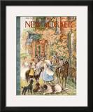 The New Yorker Cover - July 14, 1956 Framed Giclee Print by Mary Petty
