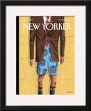 The New Yorker Cover - March 24, 2008 Framed Giclee Print by Mark Ulriksen