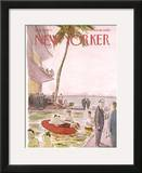 The New Yorker Cover - August 19, 1972 Framed Giclee Print by James Stevenson