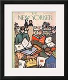 The New Yorker Cover - December 1, 1956 Framed Giclee Print by Abe Birnbaum