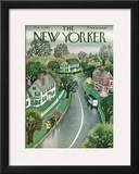 The New Yorker Cover - May 3, 1947 Framed Giclee Print by Edna Eicke
