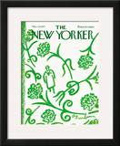 The New Yorker Cover - March 20, 1971 Framed Giclee Print by Abe Birnbaum